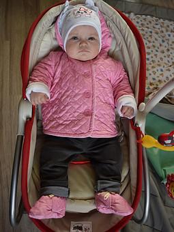 Работа с названием Курточка для малышки