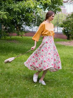 Работа с названием Летние юбки!