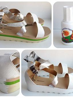Работа с названием Переделка обуви.  Летняя мечта 2015