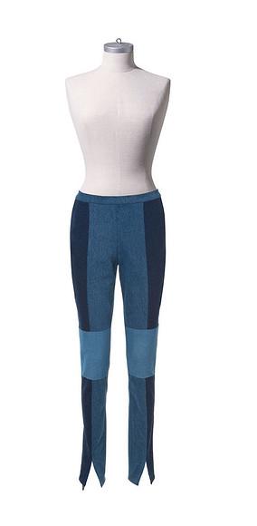 Как сшить женские брюки встиле пэчворк