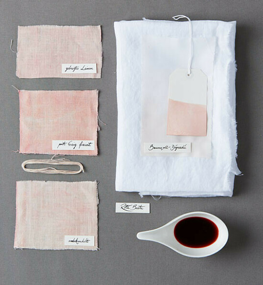 Окрашиваем ткань натуральными красителями