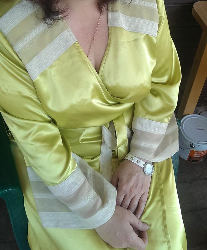 Шелковый халат от Беллона