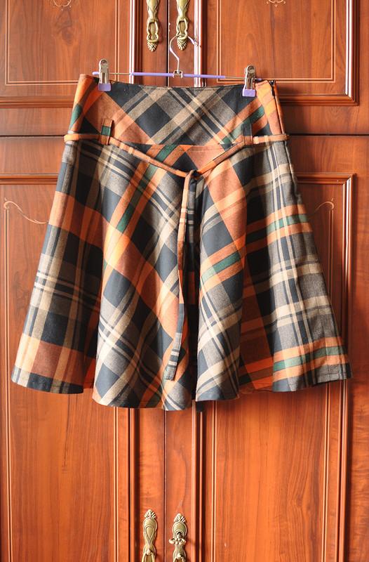 Новая юбка изстарой юбки