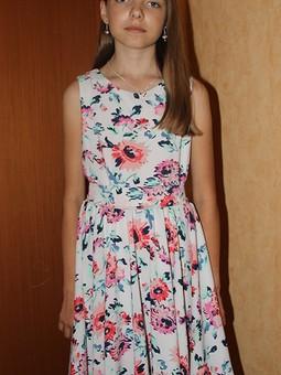 Работа с названием Платье для дочки