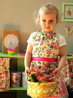 Работа с названием Кухня для маленькой хозяйки