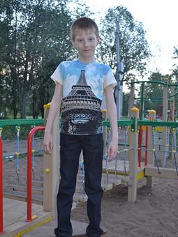 Работа с названием Детские джинсы
