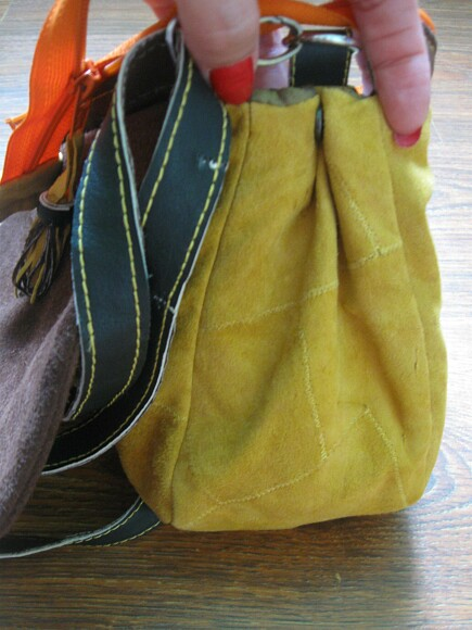 Замшевая сумочка своими руками