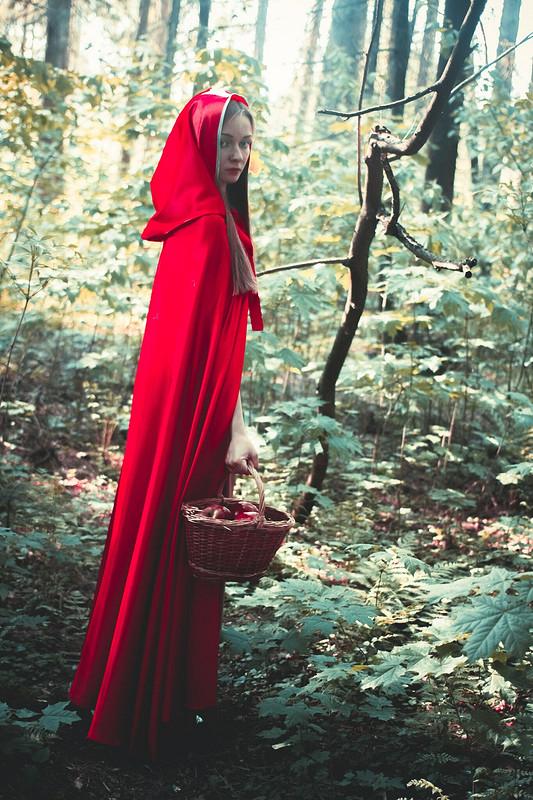 Плащ Красной Шапочки от Elena_Shakirova