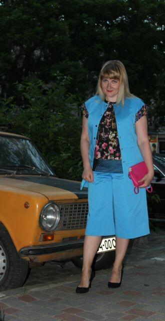 Модные кюлоты или просто юбка-брюки