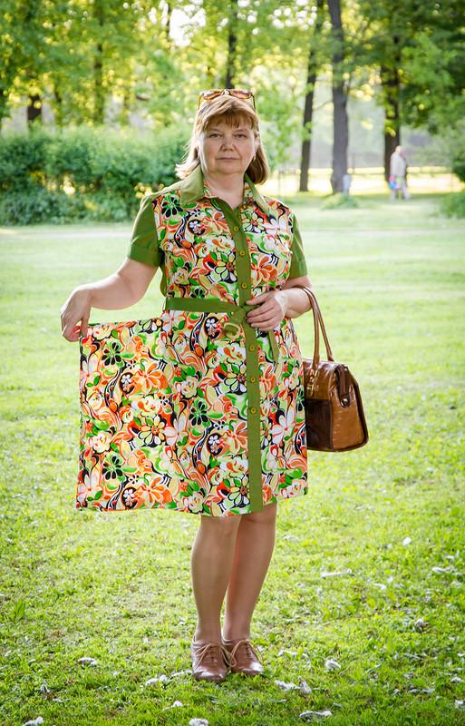 Платье-рубашка...#2