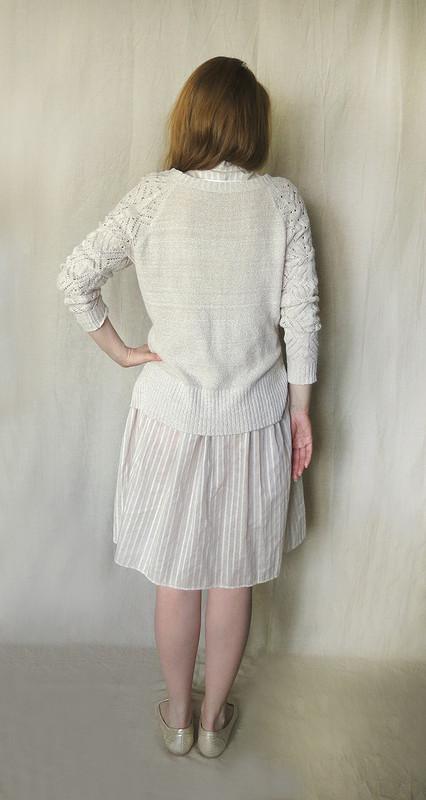 Платье-рубашка. Попытка встиле бохо :) от Dika