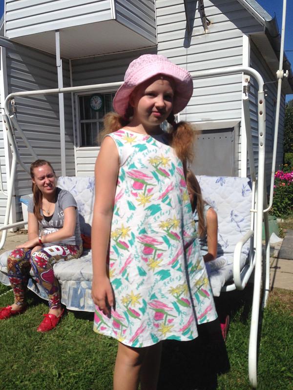 Платье дляЛизы или я Хомяк со стажем