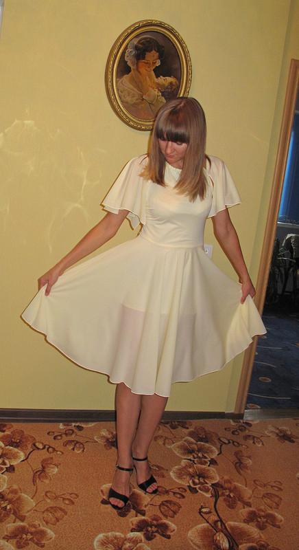 Легкое как бабочка или платье повыкройке блузки