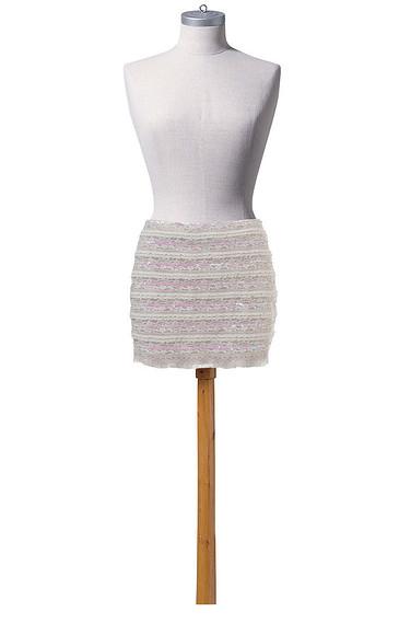 Как сшить мини-юбку наподкладке