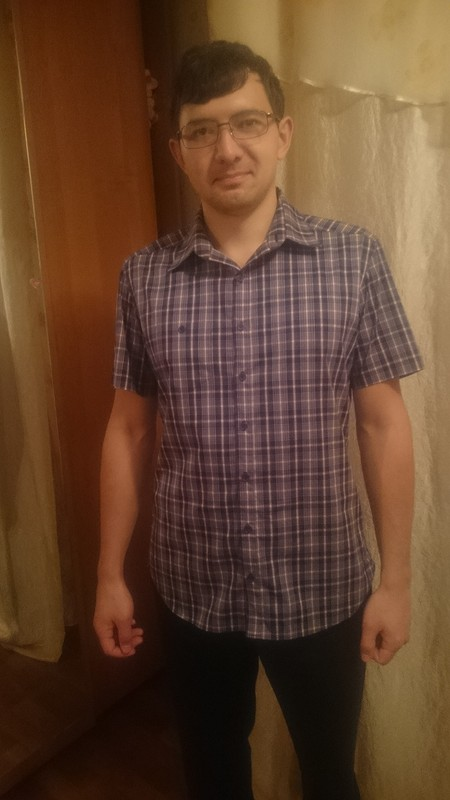 Пробная рубашка