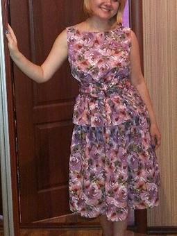 Работа с названием Топ + юбка = платье