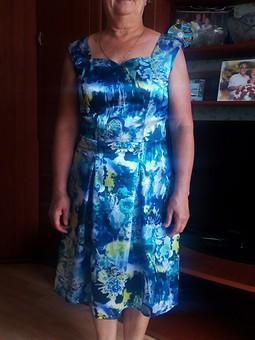 Работа с названием Платье для летнего вечера