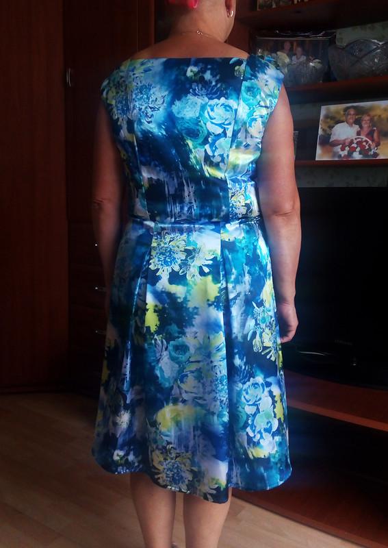 Платье длялетнего вечера от Настенька Вячеславовна