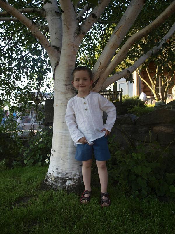 Льняная рубаха от taxinja