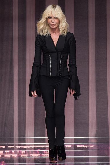 Неделя высокой моды вПариже: Atelier Versace