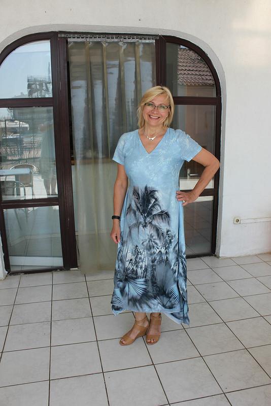 Платье «Пальмы, море, Сочи!»