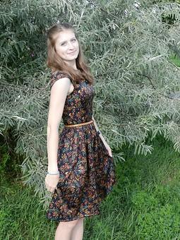 Работа с названием Любимейшее платье