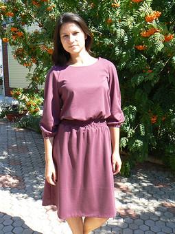Работа с названием Платье на осень