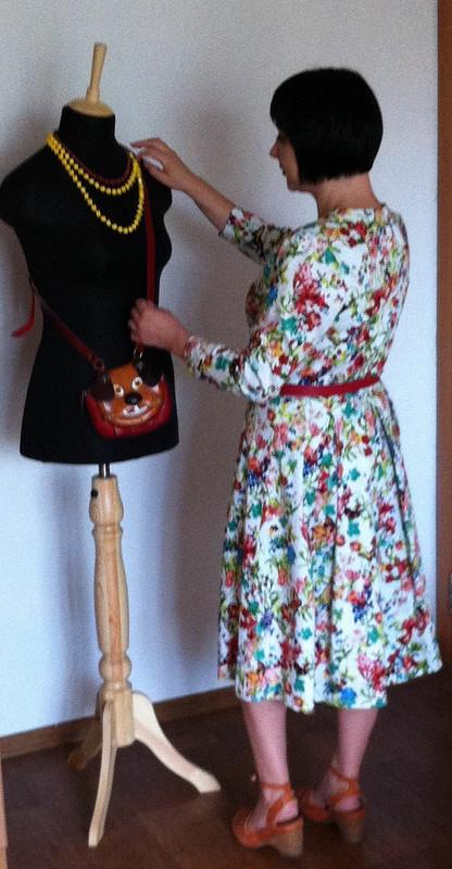 Платье цветочек от rfgecna