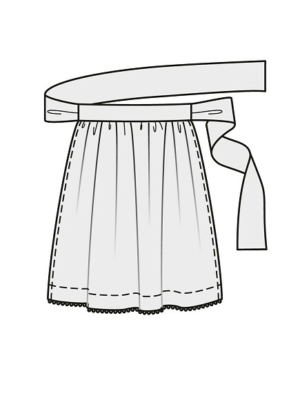 Как сшить платье со сборками наталии