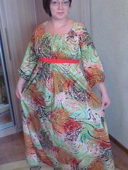 Работа с названием Платье для кормящей мамы