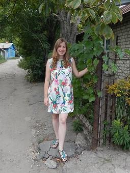 Работа с названием Кактусовое платье