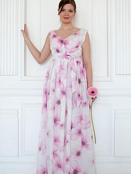 Работа с названием Нежное платье