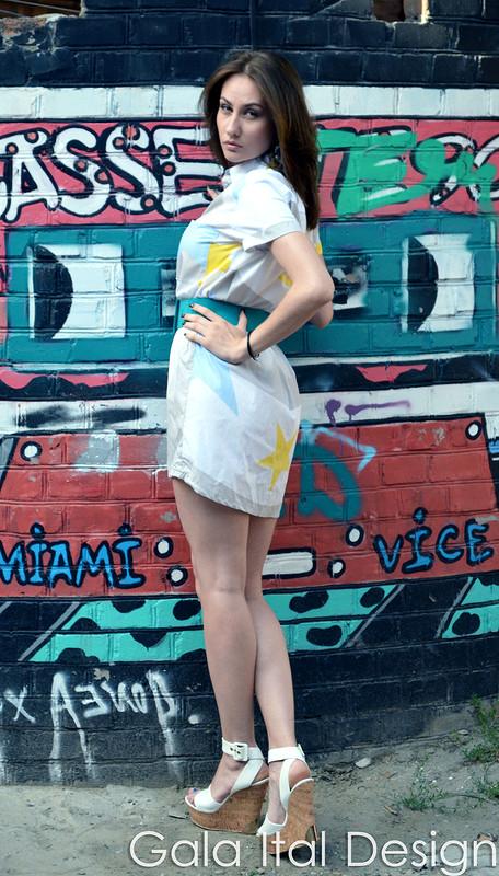Платье-рубашка от Галина RND