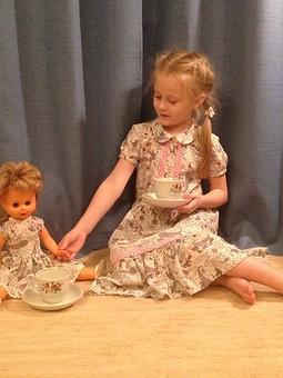 Работа с названием Платье для девчушки