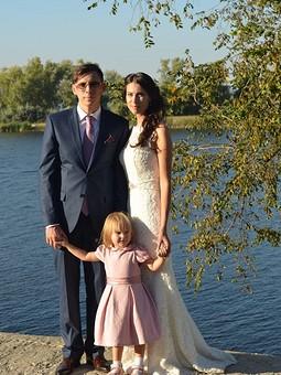 Работа с названием Наряд на свадьбу для малышки
