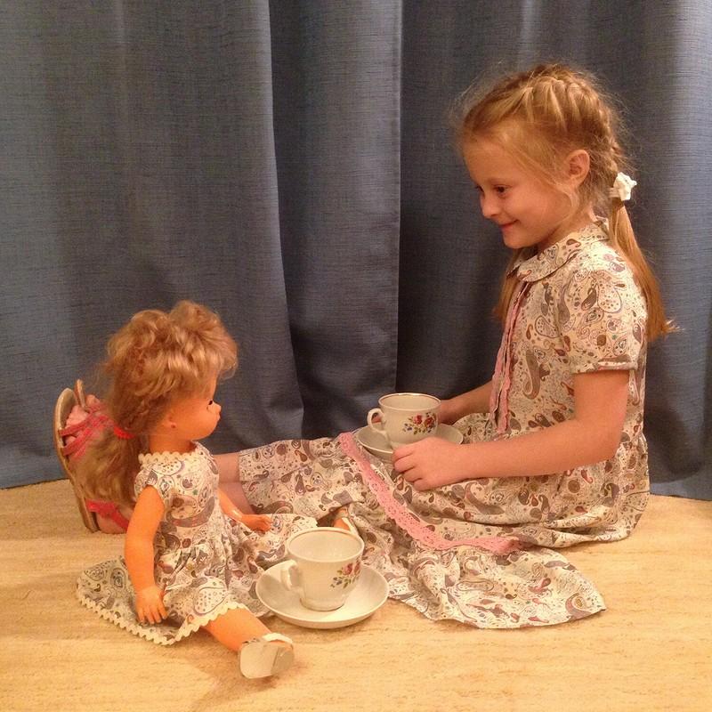 Платье длядевчушки от Яжевика