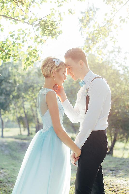 Blue wedding от Мила-Полька