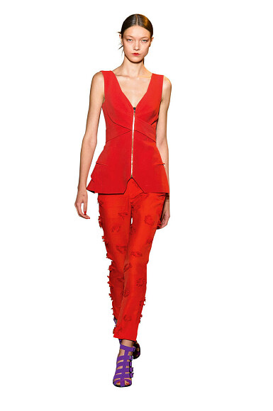 Модные детали: украшаем блузу застежкой-молнией