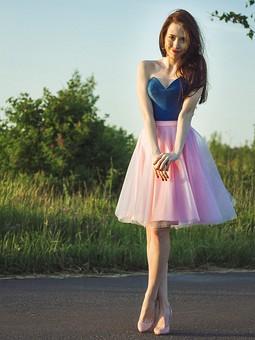 Работа с названием Корсет и юбка-это почти платье