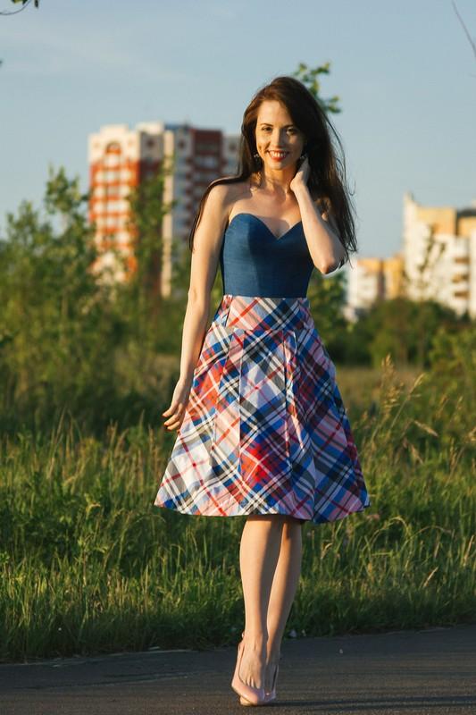 Корсет июбка-это почти платье