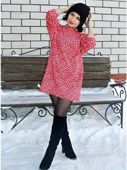 Работа с названием Платье - свитер