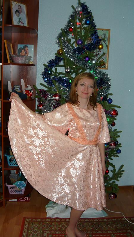 Платье нановый год от limon