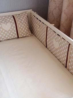 Работа с названием Комплект для детской кроватки