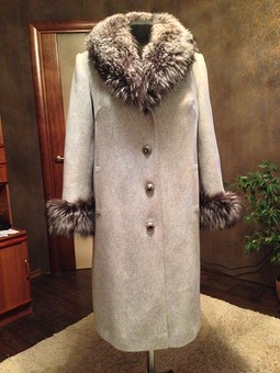 Работа с названием Пальто зимнее