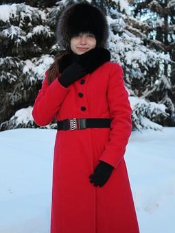 Работа с названием Зимнее пальто