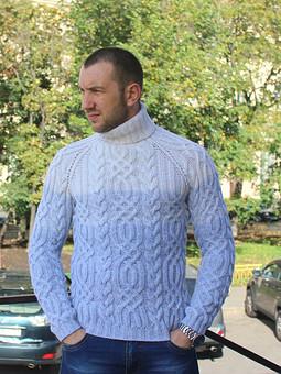 Работа с названием Мужские свитера