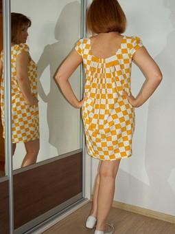Работа с названием Платье для домашнего НГ  :))