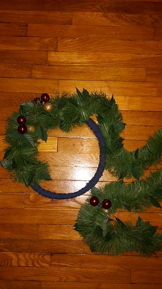 Как сделать рождественский венок вдомашних условиях