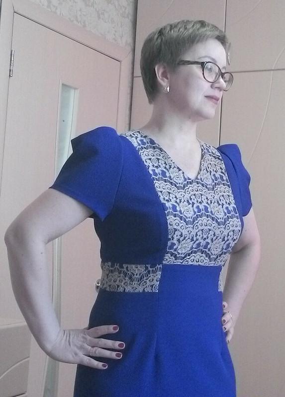 Платье сгипюром, или новогоднее № 2