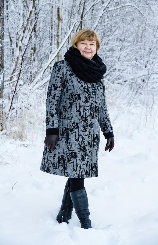 Зима. Старое пальто нановый лад